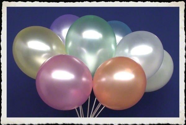 Perlmutt Luftballons