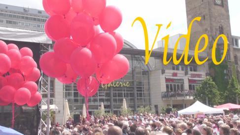 Video: Ballons steigen lassen, Luftballons und Helium vom Ballonsupermarkt