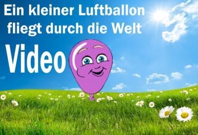 Das Schönste am Kindergeburtstag: Luftballons steigen lassen