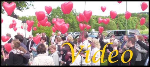 Video: Hochzeit, Luftballons steigen lassen
